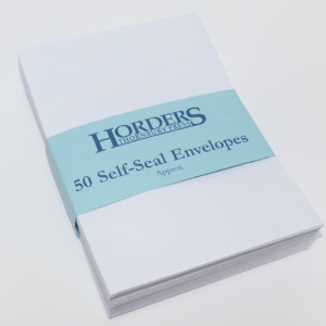 C6 Self-Seal White Envelopes x 50