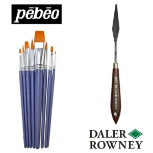 Brushes & Palette Knives